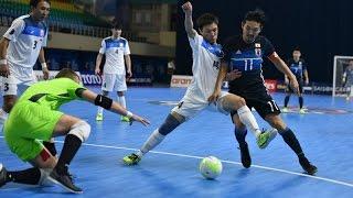 KYRGYZSTAN vs JAPAN: AFC Futsal Championship 2016 (Playoffs)