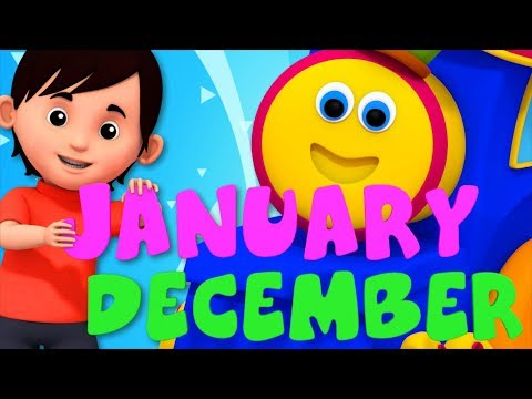 I am Father Year | Months Song | Learning Street With Bob The Train | Kids Shows | Kids Tv