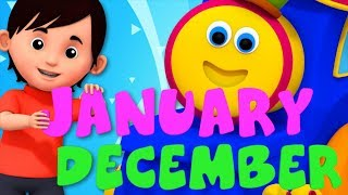 Months Of The Year Song | I am Father Year | Learning Street With Bob The Train | Kids Tv