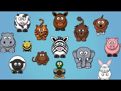 Animal Sounds Songs for Children
