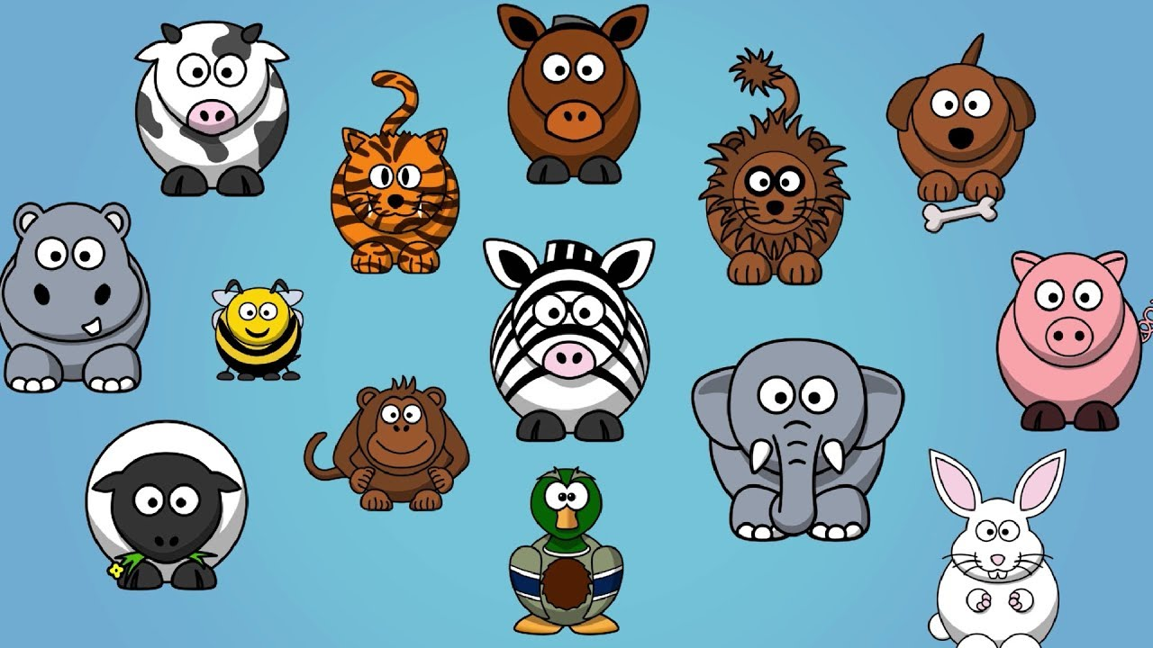 sounds animals animal songs children names