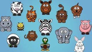Animal Sounds Songs for Children