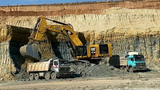 Mining Excavators , Wheel Loaders, Construction And Mining Sites - Sotiriadis/Labrianidis Mining