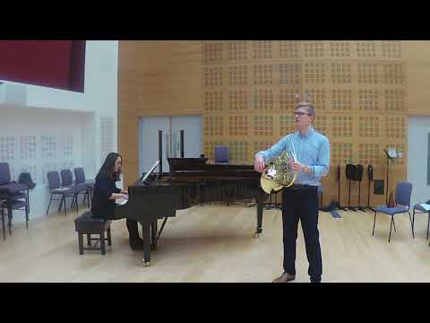Will Padfield, Horn. Mozart horn concerto 3, Andante