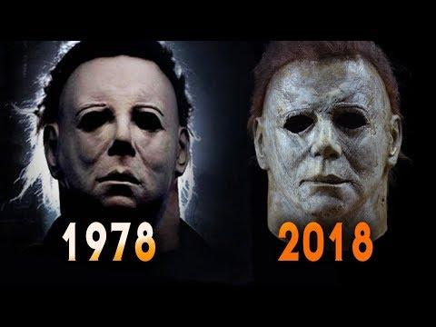 wähle echt neueste Art von beste Angebote für Halloween 1978 and 2018 Michael Myers Mask Comparison | Full Mask Details