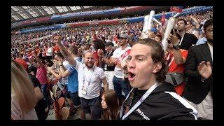 СХОДИЛИ НА FIFA 2018 ! ПОБЕДА РОССИИ ПРОТИВ ИСПАНИИ ! ХАУС В МОСКВЕ ПОСЛЕ МАТЧА