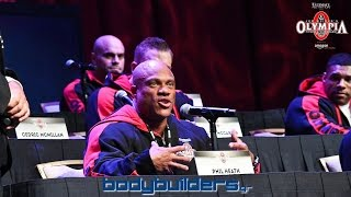 Video Phil Heath About Kevin Levrone's Comeback - 2016 Mr. Olympia Press Conference download MP3, 3GP, MP4, WEBM, AVI, FLV Agustus 2018