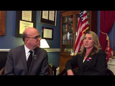 Congressman McGovern & 2018 State of the Union Guest Tara Huard