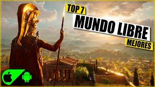 TOP 7 ● MEJORES JUEGOS SIN INTERNET DE MUNDO ABIERTO/LIBRE PARA ANDROID
