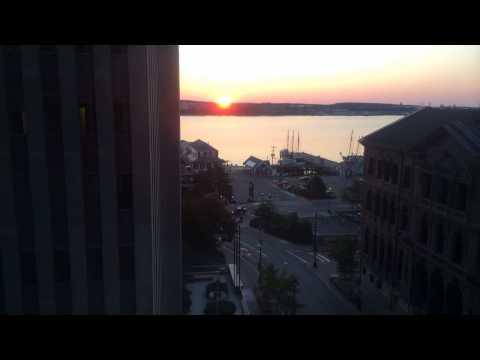 Sunrise over Halifax