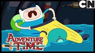 Finn's Ocean Fear | Adventure Time | Cartoon Network