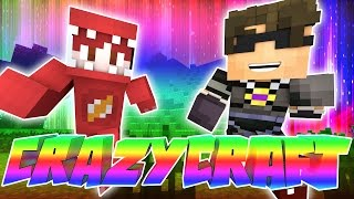 WE GET ABSOLUTELY NOTHING DONE | Minecraft Crazy Craft Episode 1