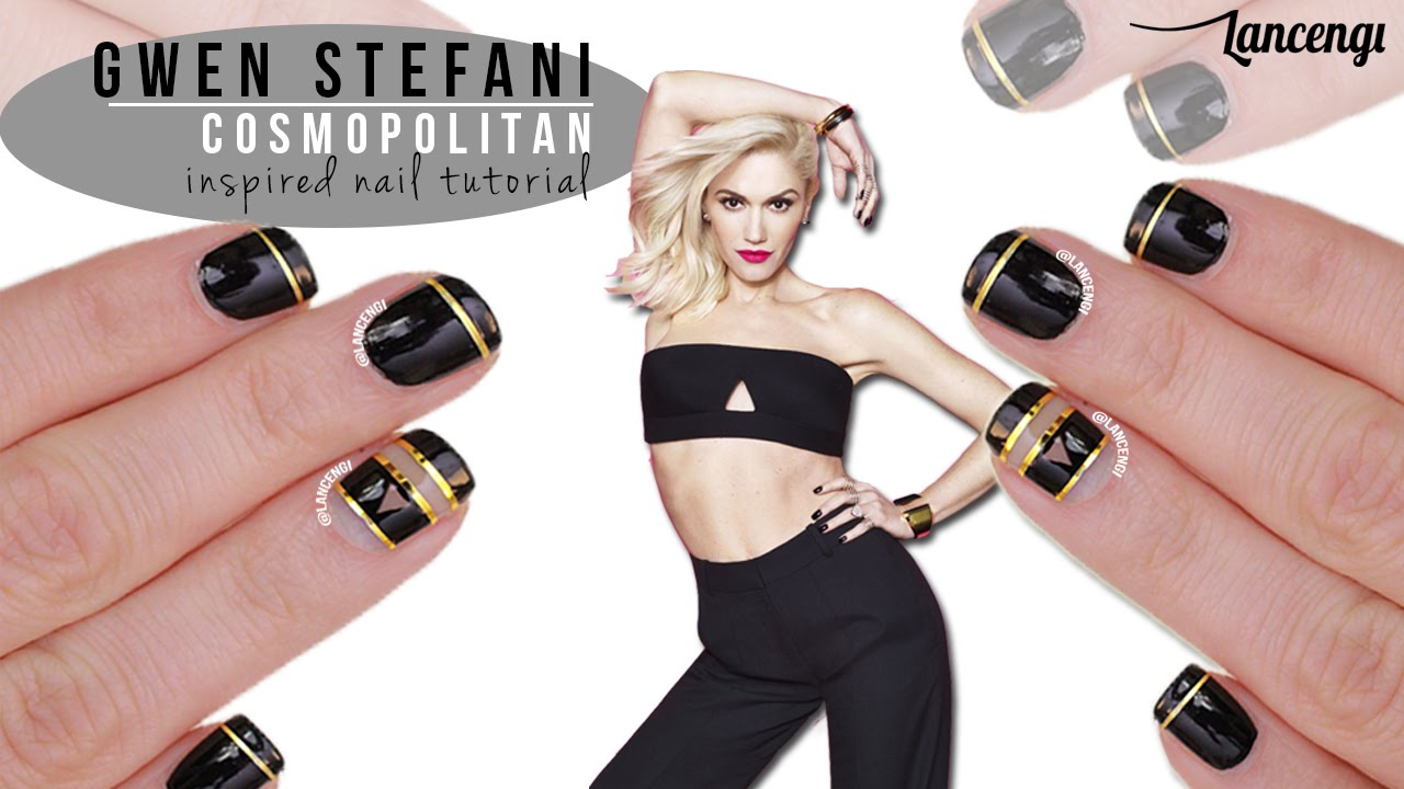 Fab Friday #10 - Gwen Stefani x Cosmopolitan Inspired Nail Designs ...