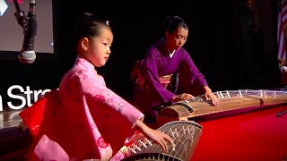 Japanese Harp: Akino and Yoshino Watanbe and Sumie Kaneko at TEDxBeaconStreet