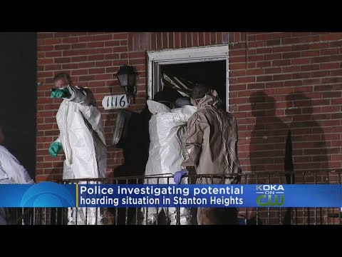 Police Probe Possible Hoarding Situation In Stanton Heights.