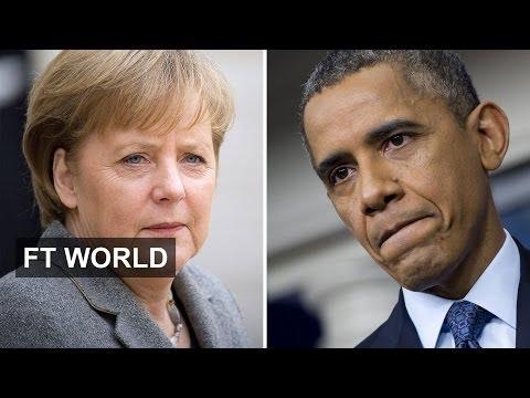 Ukraine and NSA will test Merkel