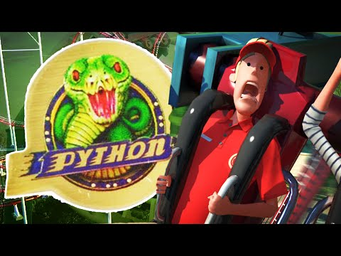 DE PYTHON NAMAKEN! (Planet Coaster)