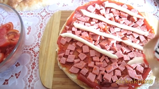 Ленивая Пицца = из Лаваша