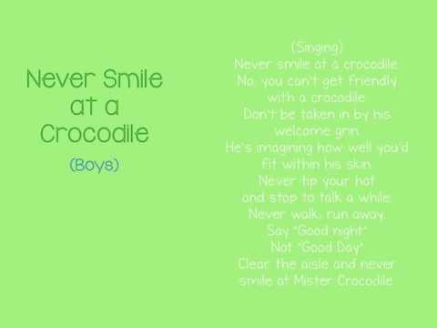 Mantua Drama Club - Audition Video - Never Smile at a Crocodile