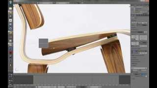 Tutorial Blender Modelado De Silla Eames Lounge Chair Wood
