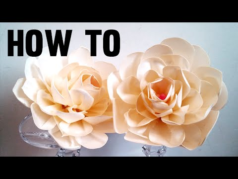 How to make fabric flowers creamy ribbon rose diy handmade flowers how to make fabric flowers creamy ribbon rose diy handmade flowers mightylinksfo
