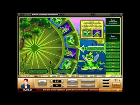 Видео Игровой автомат лягушка онлайн