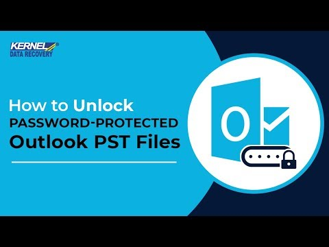How To Unlock Password-Protected Outlook PST Files?