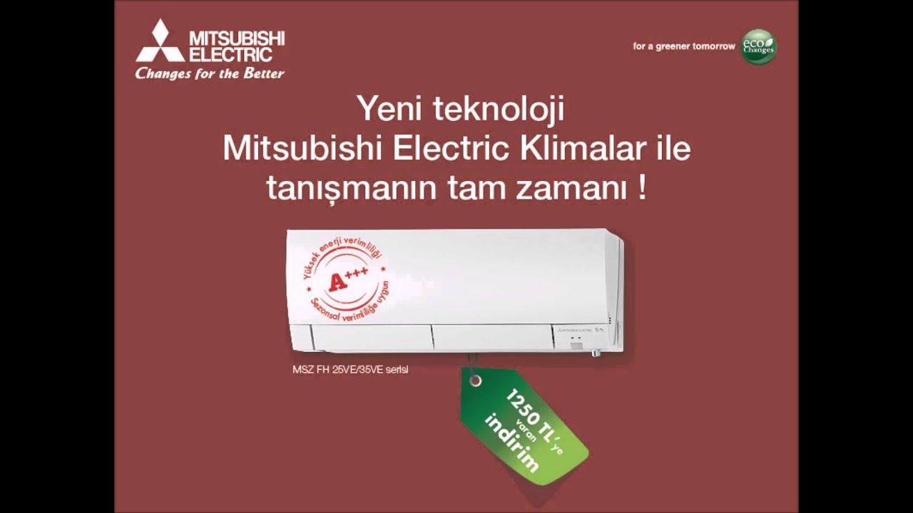 Mitsubishi electric klima k kampanyas radyo spotu youtube for Mitsubishi klima innengerat
