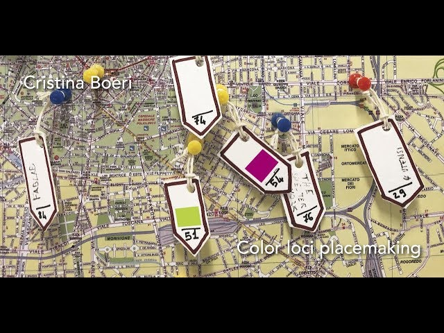 Luce e Colore tra Arte e Design | Cristina Boeri - Color loci placemaking