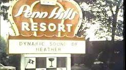 Penn Hills Resort 1978 TV commercial