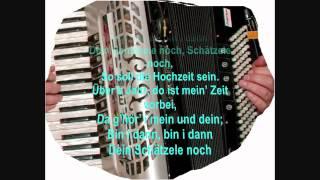 Wooden Heart - Elvis Presley - (Muss i denn zum Städele hinaus) - Accordion music