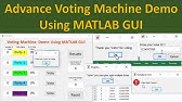 Electronic Voting Machine (EVM) Matlab Project with Source