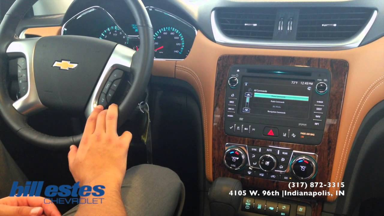 Used Chevy Traverse >> How To: Bluetooth Phone Pairing Chevrolet Traverse LT ...
