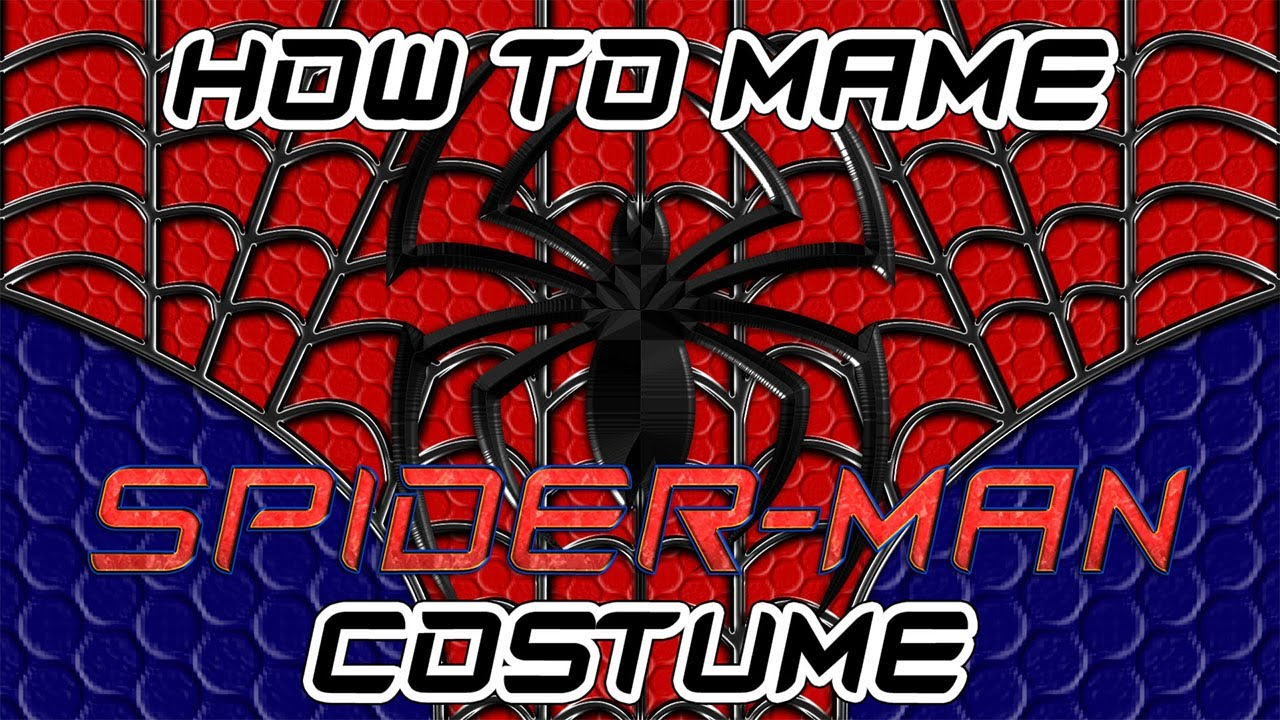 How to make a spider man costume part 1 youtube jeuxipadfo Images