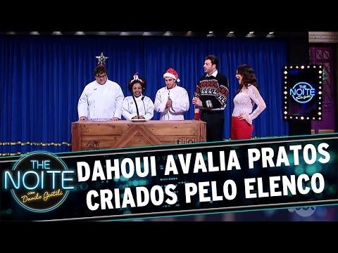 Chef Dahoui avalia pratos criados pelo elenco | The Noite (16/12/16)