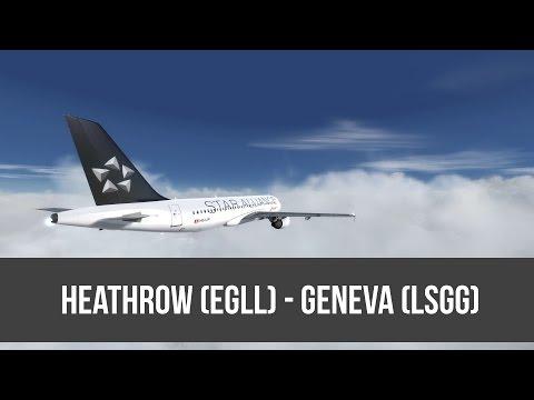 [P3D] SWR359 | London - Geneva | Aerosoft A320