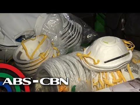 Mga tindahang nagbenta ng sobrang mahal na N95 face mask, kakasuhan | Bandila