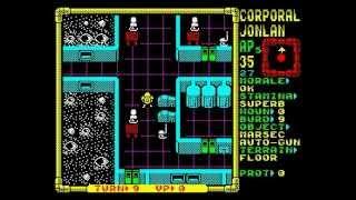 Laser Squad (Moonbase Assault Mission) Walkthrough, ZX Spectrum