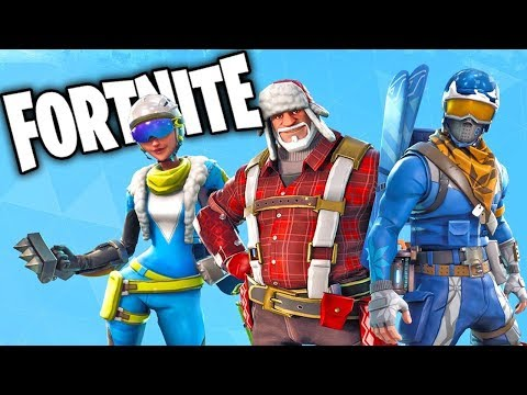 Solo Gameplay On Fortnite Battle Royale The New Christmas Update