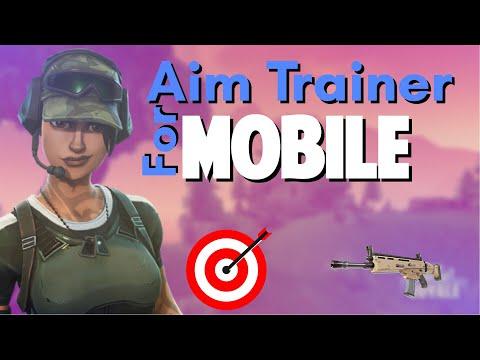 FORTNITE AIM TRAINER FOR FORTNITE MOBILE!
