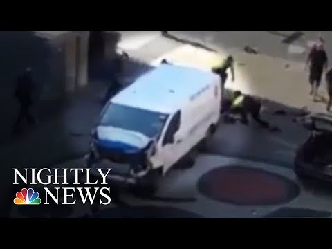Barcelona Terror Attack: 13 Dead, Dozens Injured | NBC Nightly News