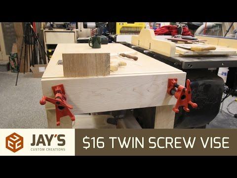 $16 Twin Screw Vise - 261