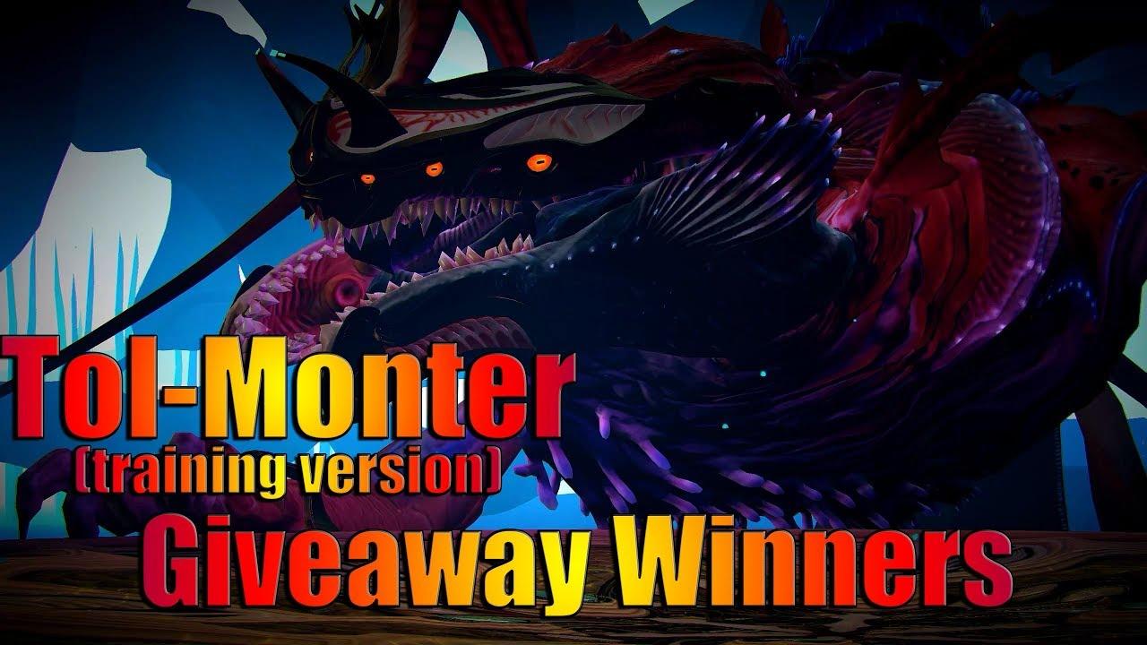 Skyforge Tol Monter traning version + Pantheon Wars Giveaway Winners