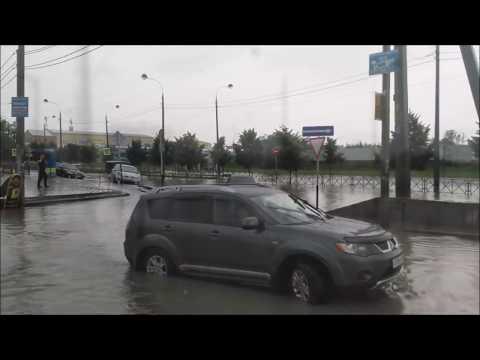 Տեսանյութ.  Կրասնոդարը հեղեղվել է հորդառատ անձրևների պատճառով