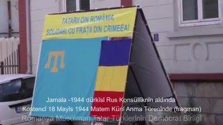 Jamala -1944 dürkǐsǐ  Köstencǐ'de Rus Konsüllǐknǐn aldında [UDTTMR]