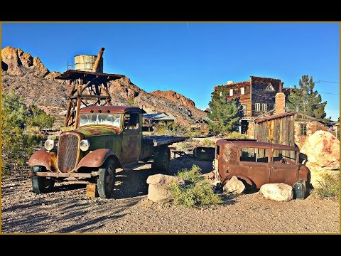 Rusty Classics of Nelson's Ghost Town Eldorado Canyon NV