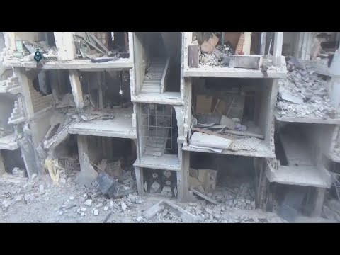 Humanitarian disaster in Syria's Eastern Ghouta