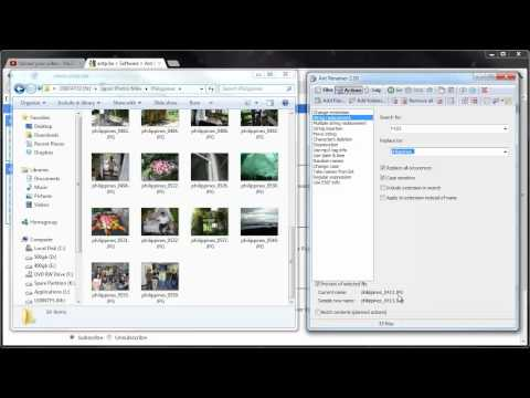 Advanced Renamer: how to batch rename multiple files at once from YouTube · Duration:  2 minutes 47 seconds