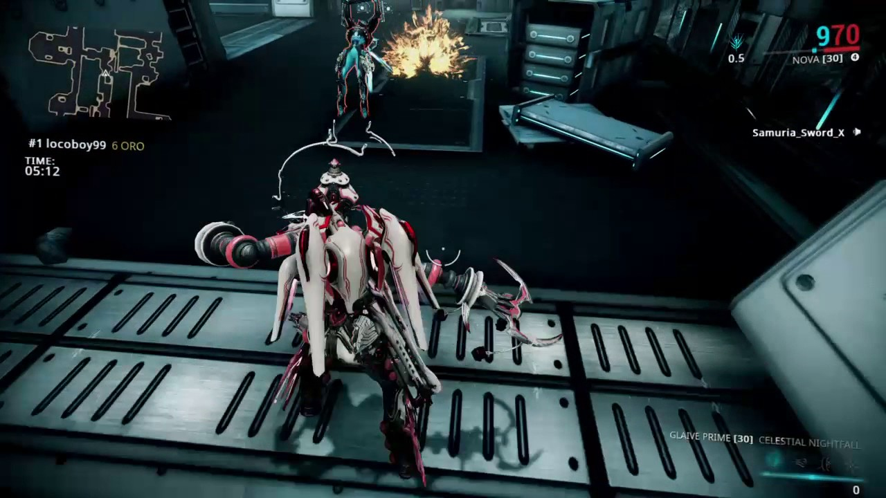 Warframe Conclave - Glaive Prime Act 1 - YouTube