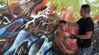 """Mamaroneck Mural """"Free"""" by Piero Manrique"""